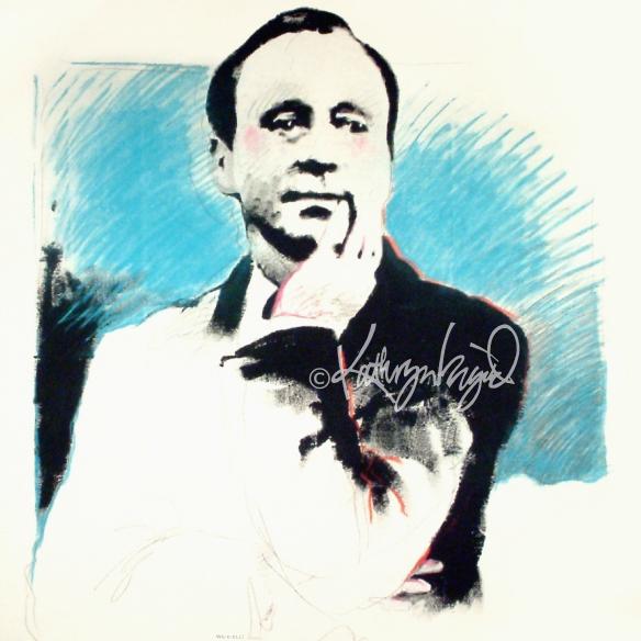 Jack Benny portrait
