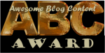 ABC Blog Award Logo