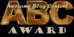 ABC Blog Award Logo
