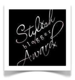 Stylish Blogger Award logo image