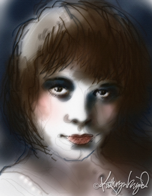 digital drawing from a photograph