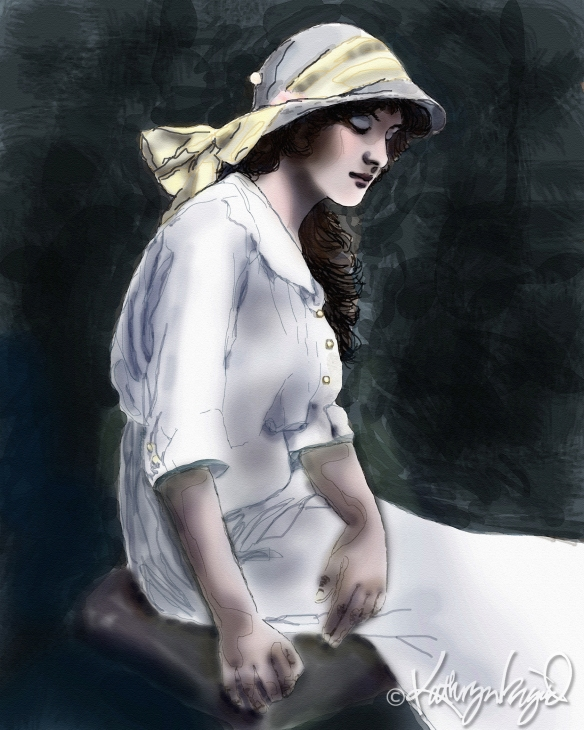 digital artwork from a vintage photo