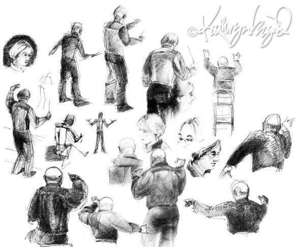 graphite sketches