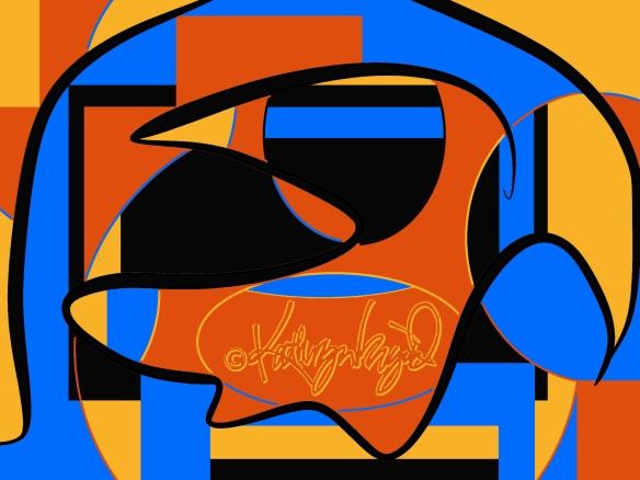Digital illustration: Jazz Age 1