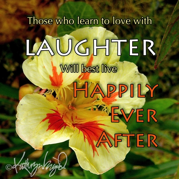 Digital artwork from a photo: Happily Ever Laughter