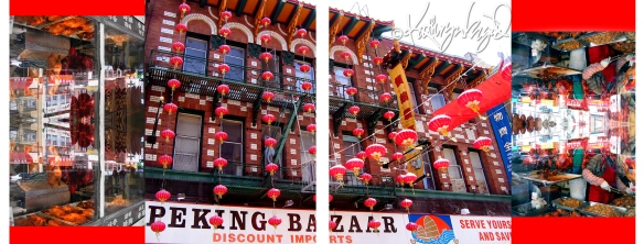Photo montage: Chinatown is Everywhere