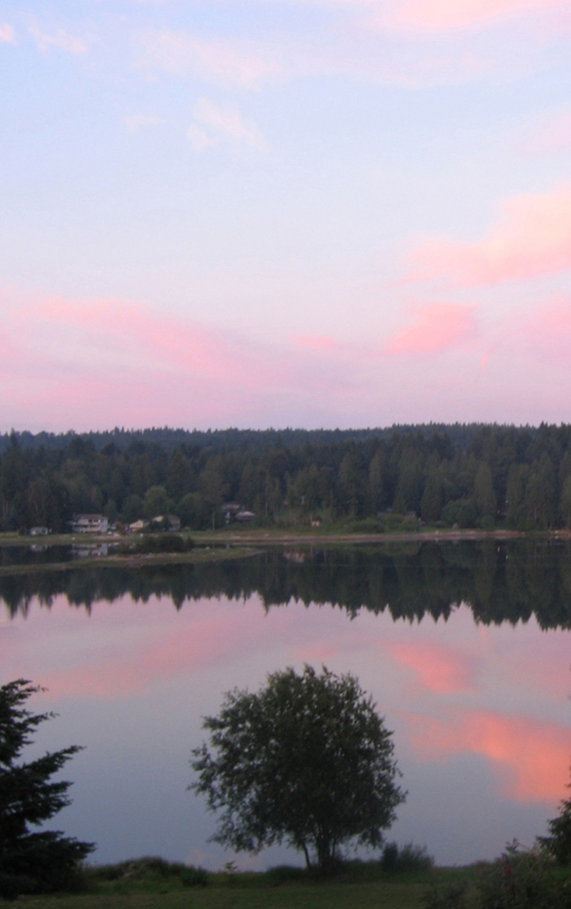 Photo: Sunset in Silverdale