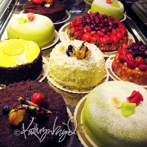 Digitally painted photo: Patisserie