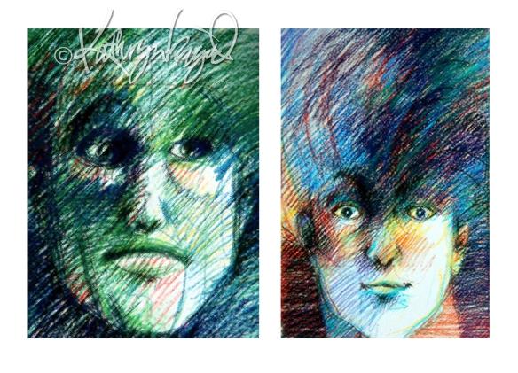 Digital illustration/drawings: Mood & 'Tude