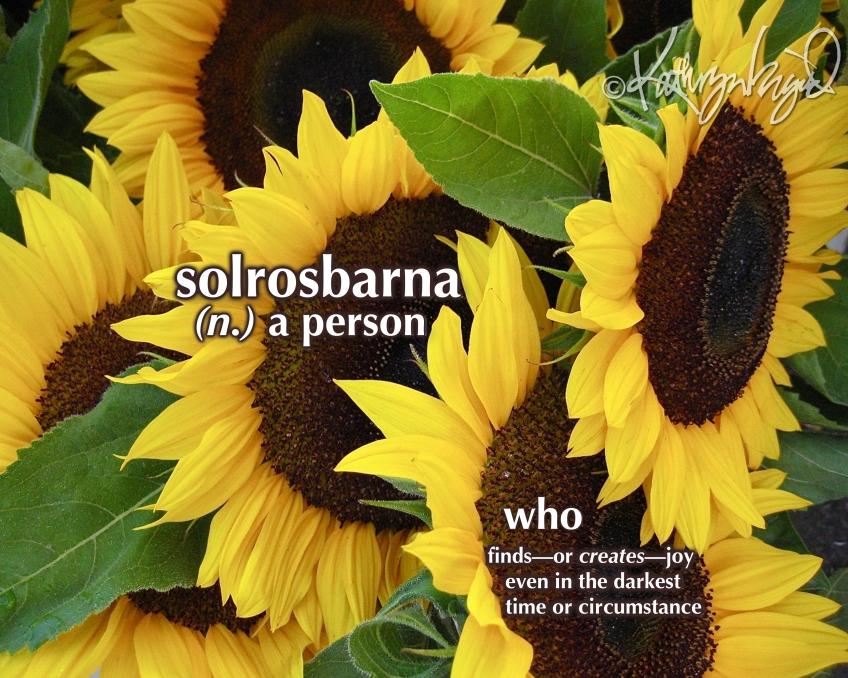 Photo + text: Solrosbarna