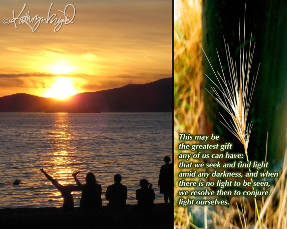 Photo montage + text: Solrosbarna 2: Greatest Gift