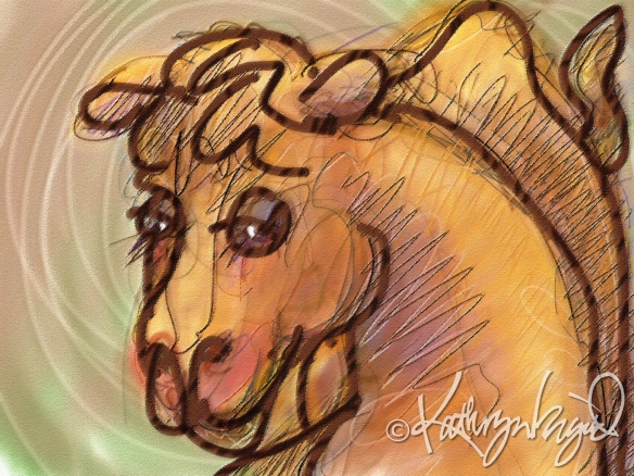 Digital illustration: Camel Companion