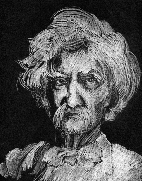 Drawing: Samuel Clemens