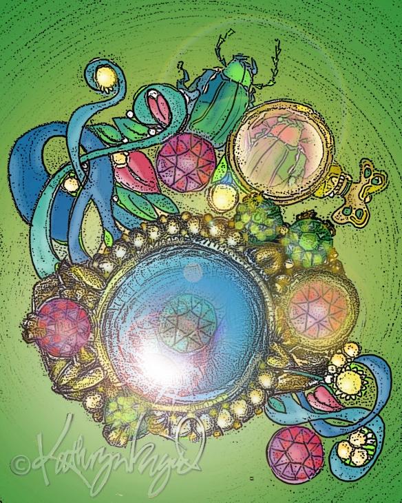 Digital illustration: The Jeweled Whatsit