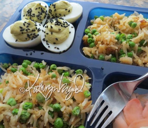 Photo: Fried Rice & Wasabi Eggs