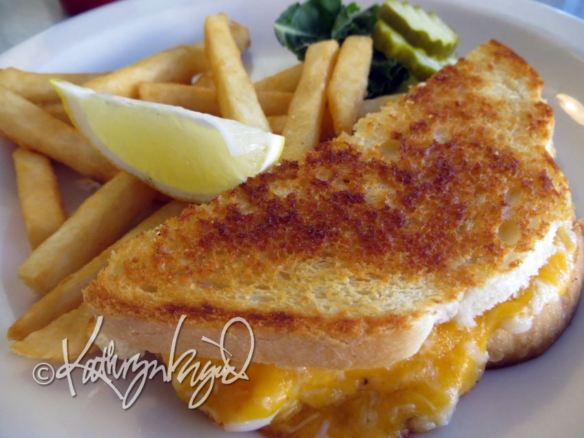Photo: Dungeness Crab Grilled Cheese