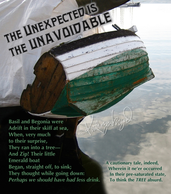 Photo + text: The Unexpected is the Unavoidable