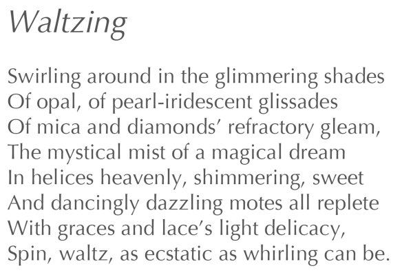 Text: Waltzing