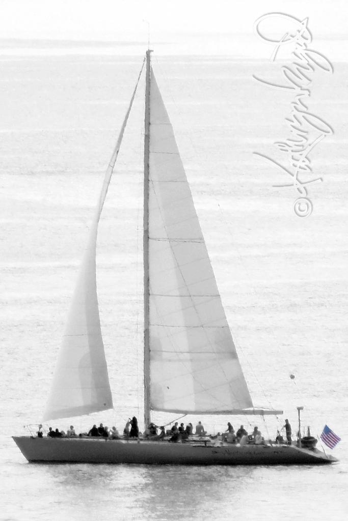 Photo: Adrift on the High Seas