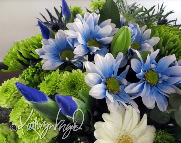 Photo: Blue Bouquet