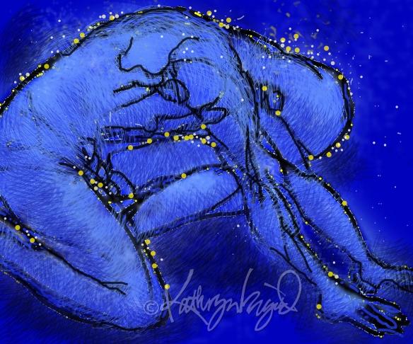 Digital illustration: Constellation