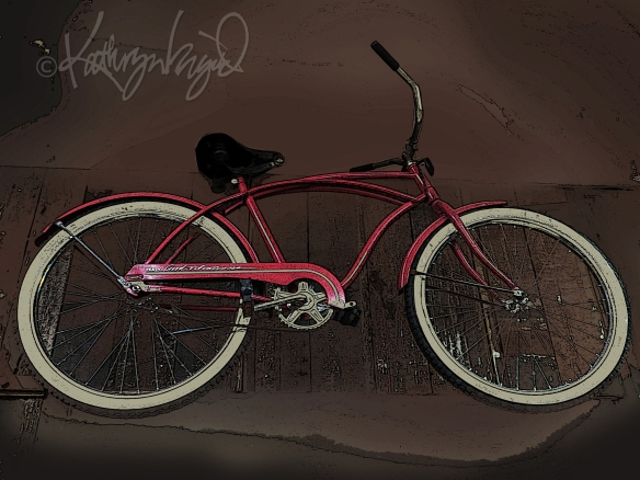 Photo: Red Bicycle No. 2