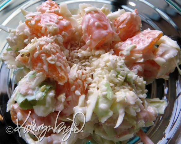 Photo: Clementine-Sesame Slaw