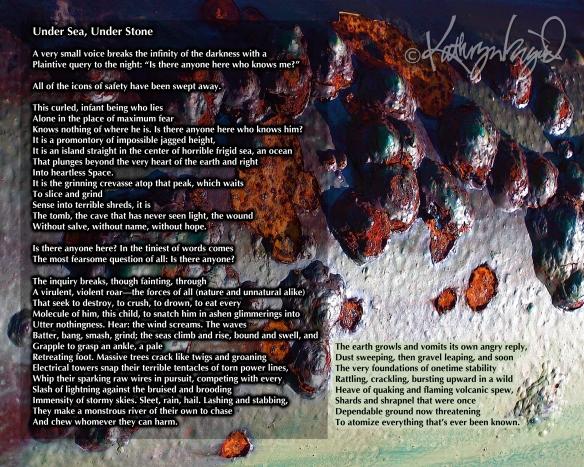Photo + text: Under Sea, Under Stone 1