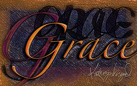 Digital illo: Grace Again