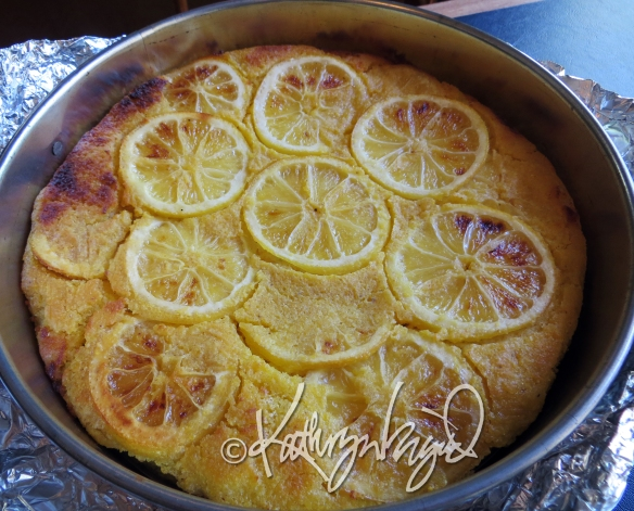 Photo: Lemon Cornmeal Torte