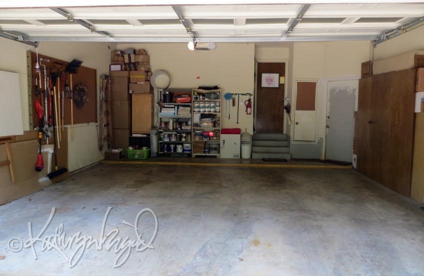 Photo: Garage Tidying