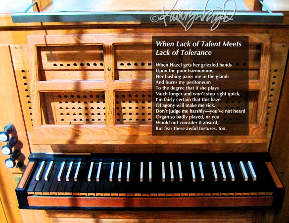 Photo + text: Lack of Talent