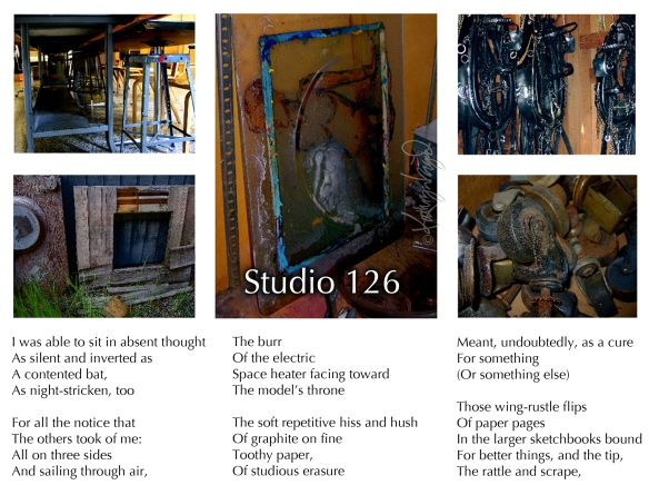 Photos + text: Studio 126, part 1