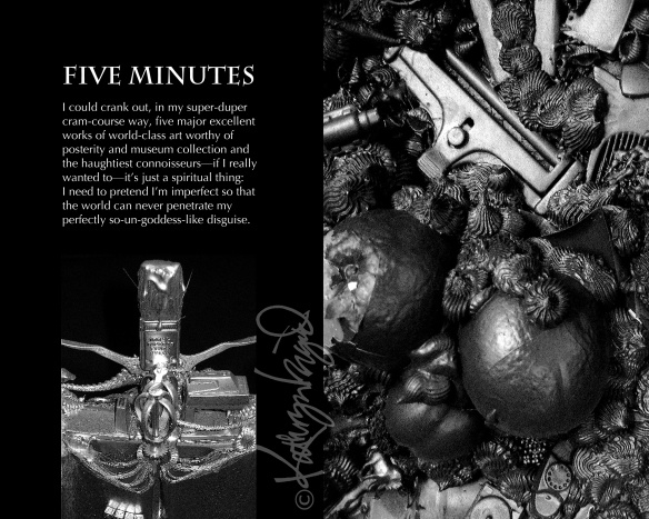 Photos + text: Five Minutes