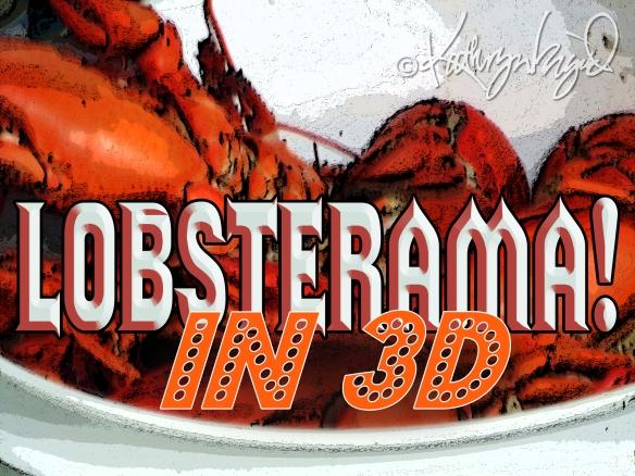 Digital illo from a photo: Lobsterama