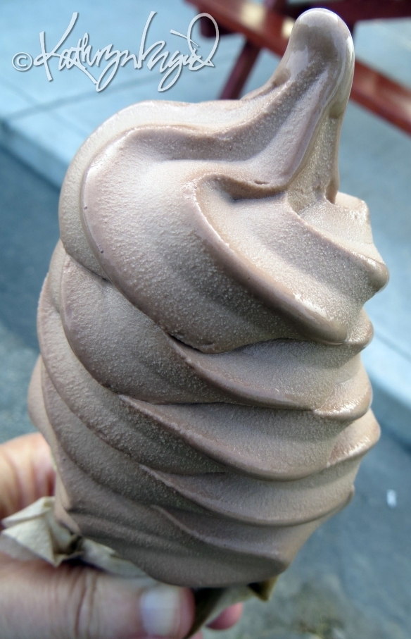 Photo: Chocolate Soft Serve