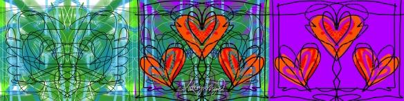 Digital illo: My Heart's Aflutter