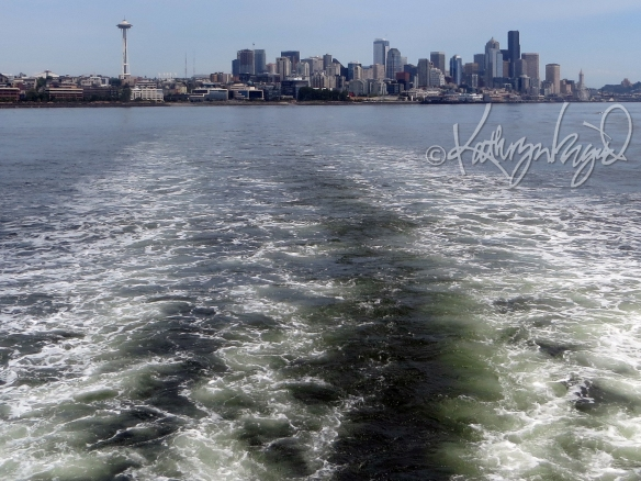 Photo: Seattle Skyline from Puget Sound