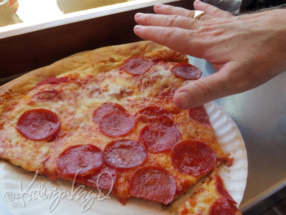Photo: Big-ass Pizza Slice