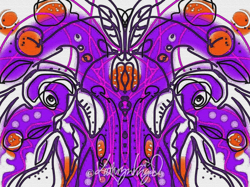 Digital illo: Life Patterns