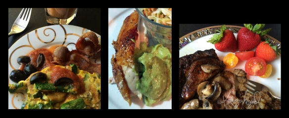 Photo montage: Phone-to-Table Eating