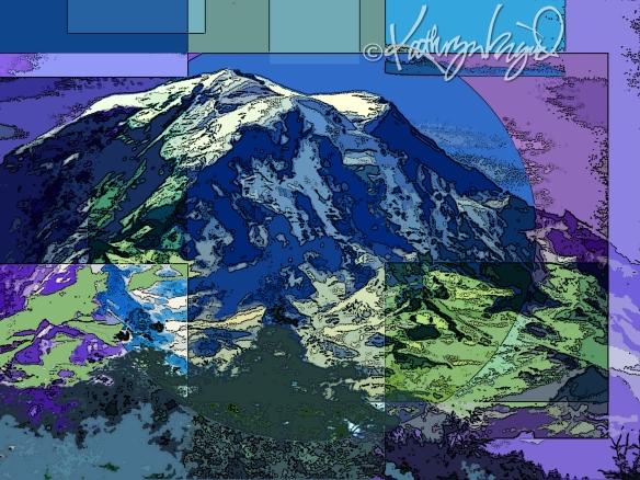 Digital illo: Our Mountain