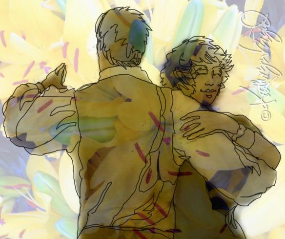 Digital illo: Dance On
