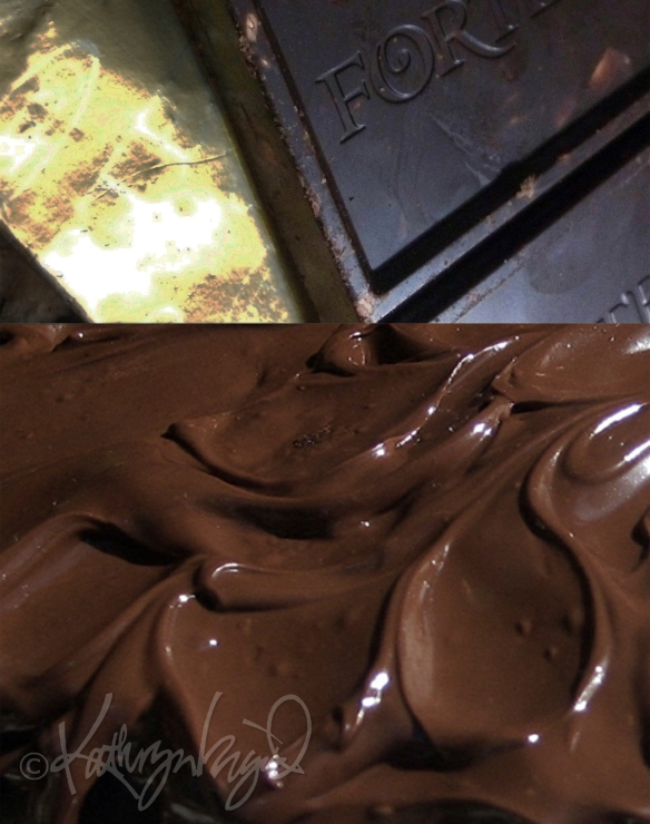 Photomontage: Chocolatey Goodness