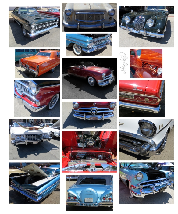 Photo montage: Denton Car Show 2015