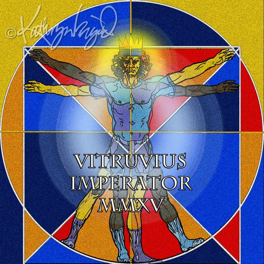 Digital illo: Vitruvius Imperator MMXV