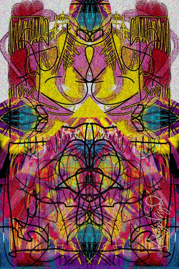 Digital illo: Beautiful, Bubbling Chaos