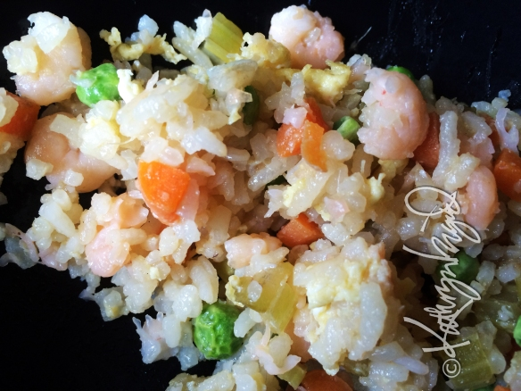 Photo: Peas Don't Take My Shrimp Fried Rice