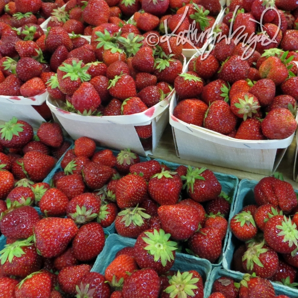 Photo: Strawberries and More Strawberries