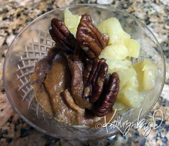 Photo: Pumpkin-Apple Dessert Makes a Good Breakfast